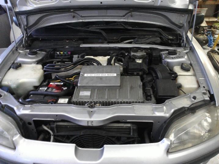 Gast EV voor lithium ombouw