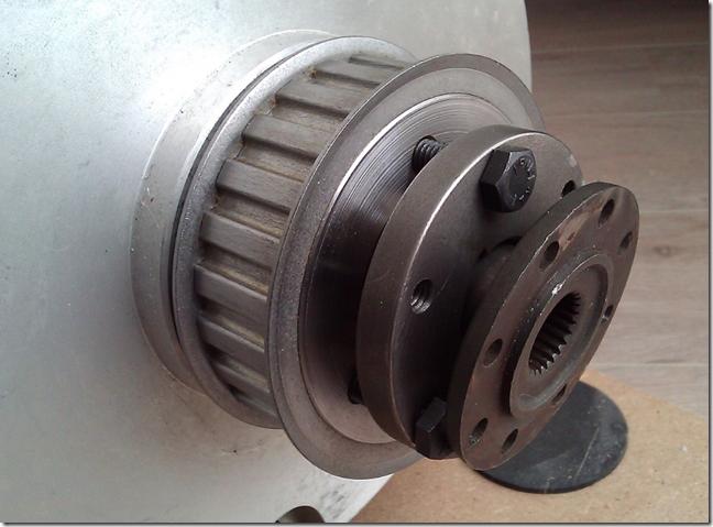 Motor koppeling